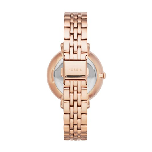 Fossil Jacqueline Rose Gold-Tone Analogue Watch
