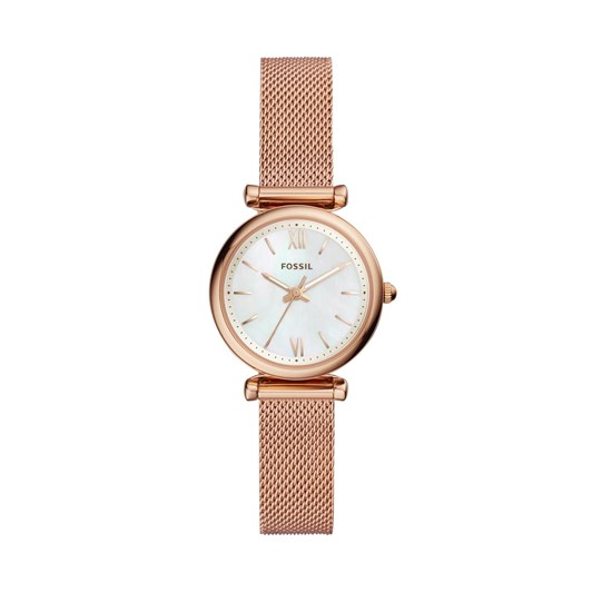 Fossil Carlie Rose Gold-Tone Analogue Watch ES4433