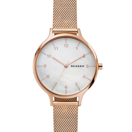 Skagen Anita Rose Gold-Tone Analogue Watch SKW2633