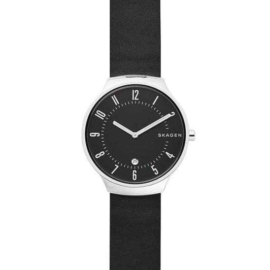 Skagen Grenen Black Analogue Watch SKW6459