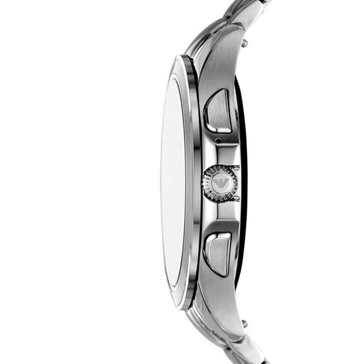Emporio Armani Silver-Tone Smartwatch ART5010