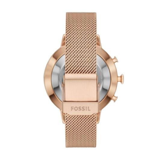 Fossil Q Jacqueline Rose Gold-Tone Hybrid Smartwatch FTW5018
