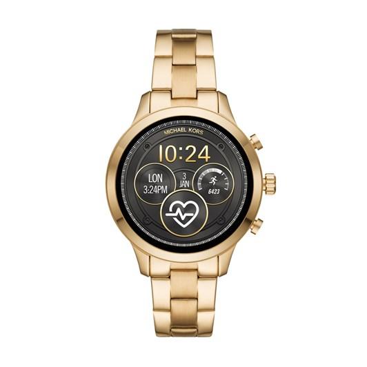 Michael Kors Runway Gold-Tone Smartwatch MKT5045