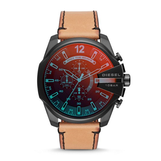 Diesel Mega Chief Brown Analogue Watch DZ4476