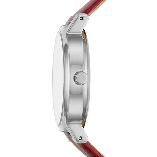 DKNY The Modernist Red Analogue Watch