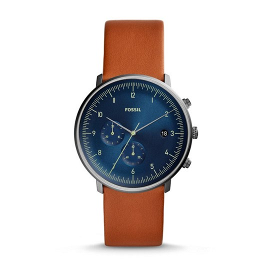 Fossil Chase Timer Brown Chronograph Watch FS5486