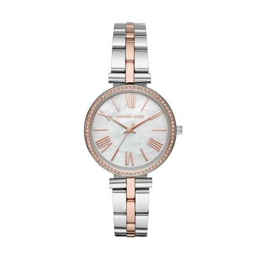 Michael Kors Maci Two Tone Analogue Watch MK3969
