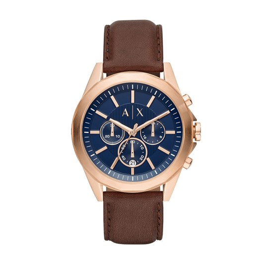 Armani Exchange Drexler Brown Chronograph Watch AX2626