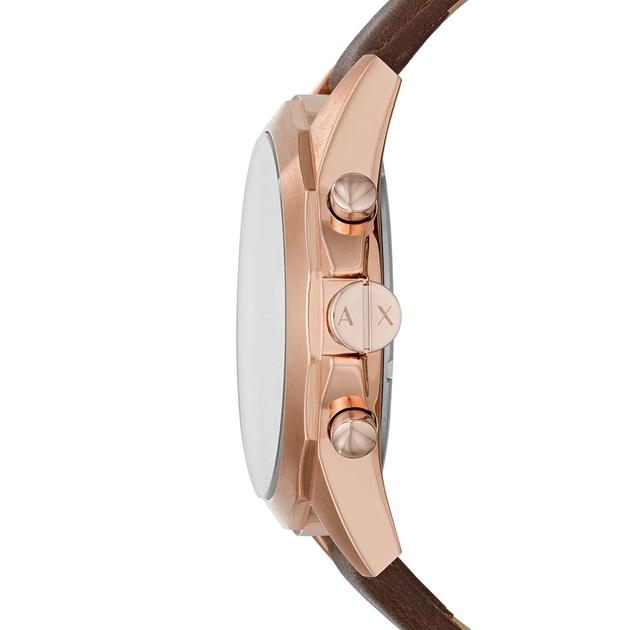 Armani Exchange Drexler Brown Chronograph Watch AX2626 - na