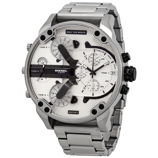 Diesel Mr. Daddy 2.0 Chronograph Stainless Steel Watch DZ7421