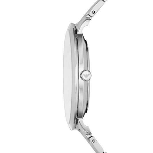 Emporio Armani Silver-Tone Analogue Watch AR11161