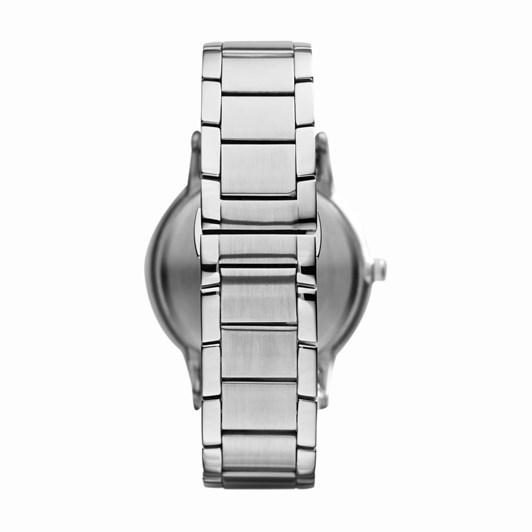 Emporio Armani Silver-Tone-Tone Analogue Watch AR11180