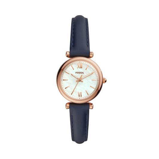 Fossil Carlie Mini Navy Analogue Watch ES4502