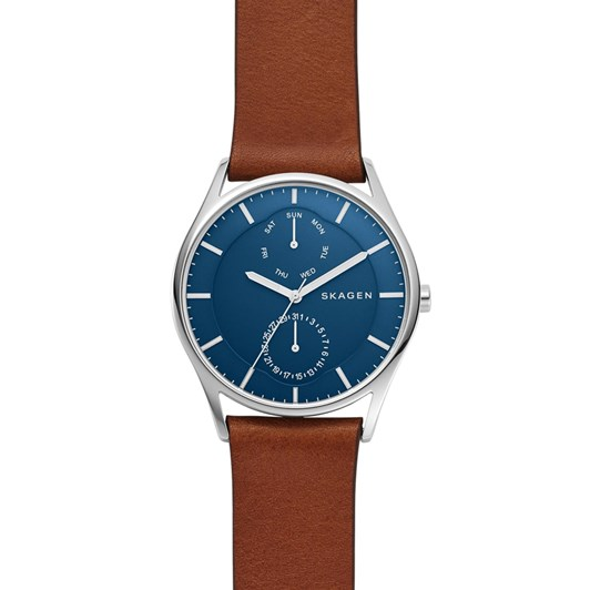 Skagen Holst Brown Analogue Watch SKW6449