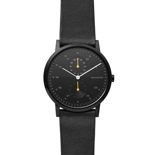 Skagen Kristoffer Black Analogue Watch SKW6499