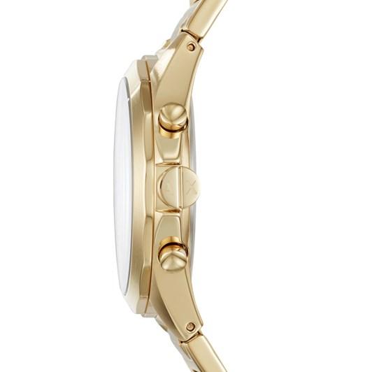 Armani Exchange Drexler Gold-Tone Chronograph Watch AX2602