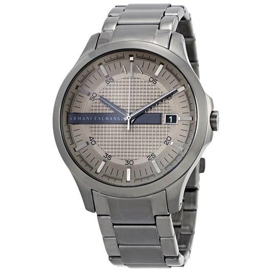 Armani Exchange Hampton Gunmetal Analog Watch AX2194