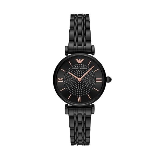 Emporio Armani Black Analogue Watch AR11245