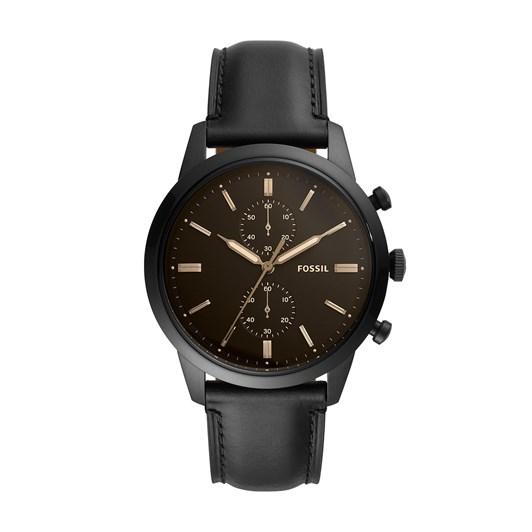 Fossil Townsman Black Chronograph Watch FS5585