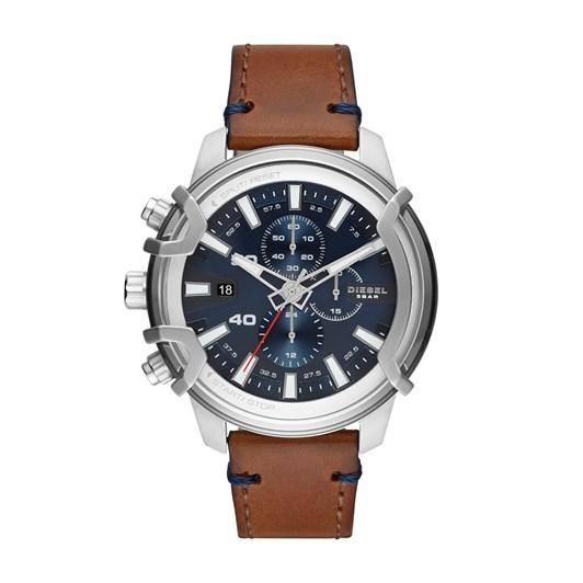 Diesel Griffed Brown Chronograph Watch DZ4518