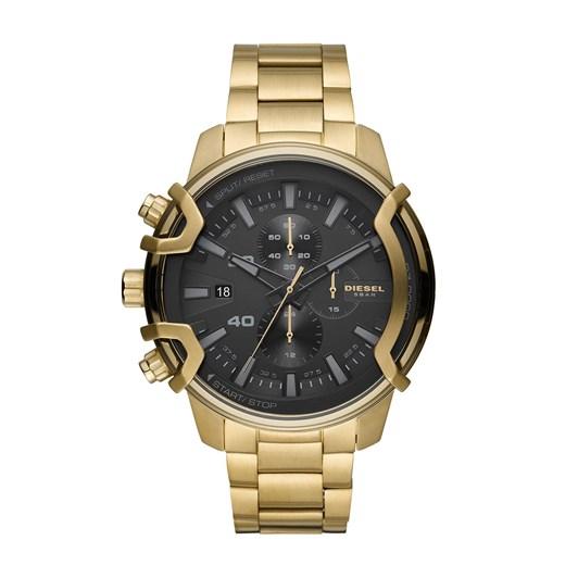 Diesel Griffed Gold-Tone Chronograph Watch DZ4522