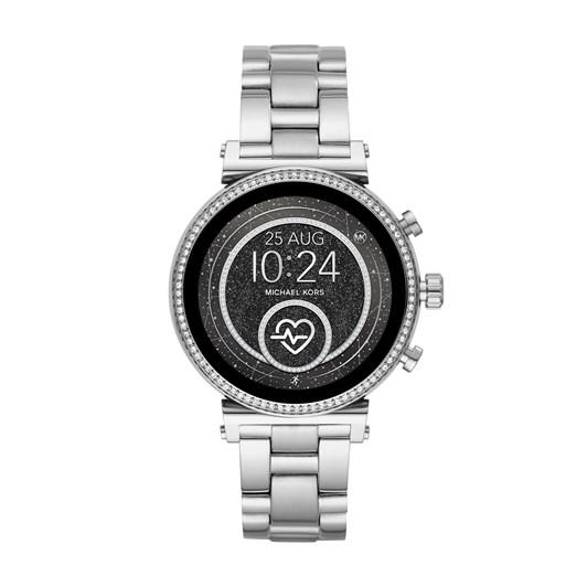 Michael Kors Sofie Silver Display Smartwatch MKT5061