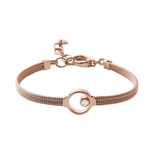 Skagen Elin Rose Gold Tone Crystal Bracelet SKJ0851791