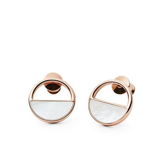 Skagen Agnethe Rose Gold-Tone Stud Earrings SKJ0998791