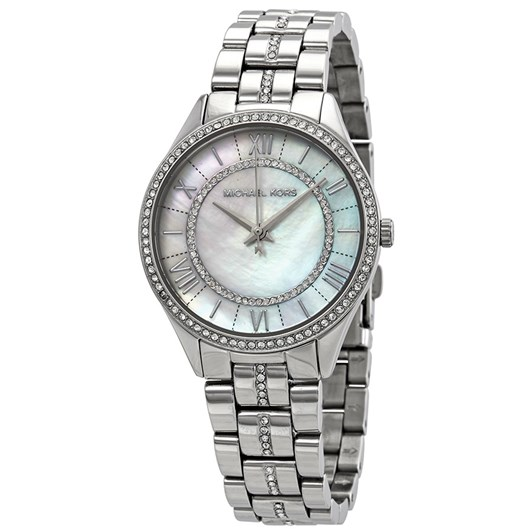 Michael Kors Lauryn Silver-Tone Analogue Watch MK3900