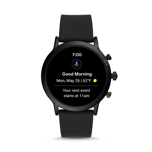 Fossil The Carlyle Hr Black Smartwatch FTW4025