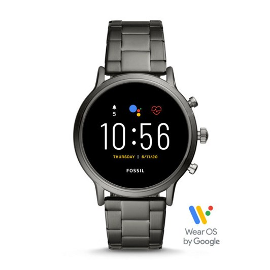 Fossil The Carlyle Hr Grey Smartwatch FTW4024