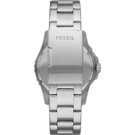 Fossil Fb-01 Silver-Tone Analogue Watch FS5652