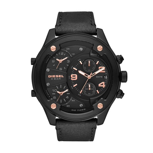 Diesel Boltdown Black Chronograph Watch DZ7428