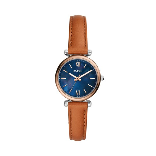 Fossil Carlie Mini Brown Analogue Watch ES4701