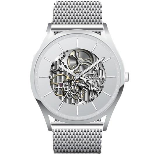 Skagen Holst Silver-Tone Analogue Watch SKW6581