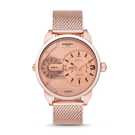Diesel Mens Mini Daddy Rose Gold Watch DZ5600