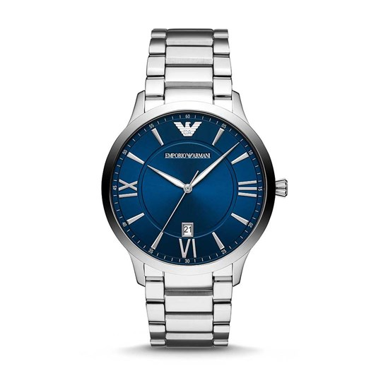 Emporio Armani Silver-Tone Analogue Watch AR11227