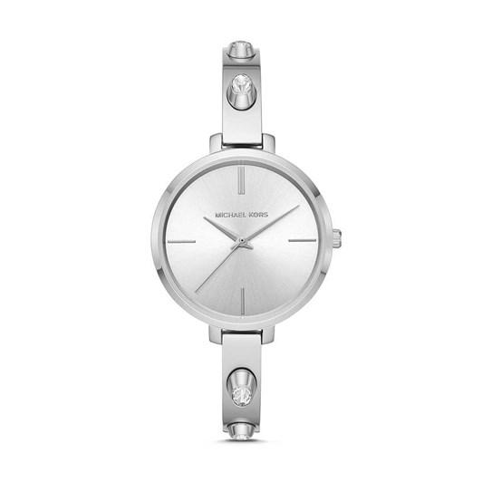 Michael Kors Jaryn Silver-Tone Analogue Watch MK4522