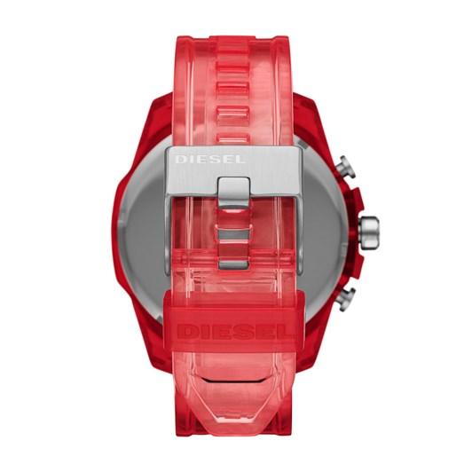 Diesel Mega Chief Red Chronograph Watch DZ4534