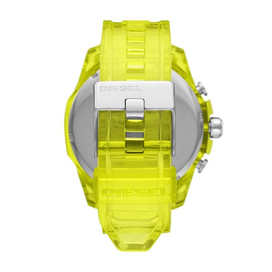 Diesel Mega Chief Yellow Chronograph Watch DZ4532