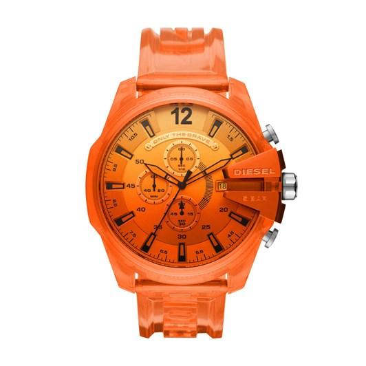 Diesel Mega Chief Orange Chronograph Watch DZ4533