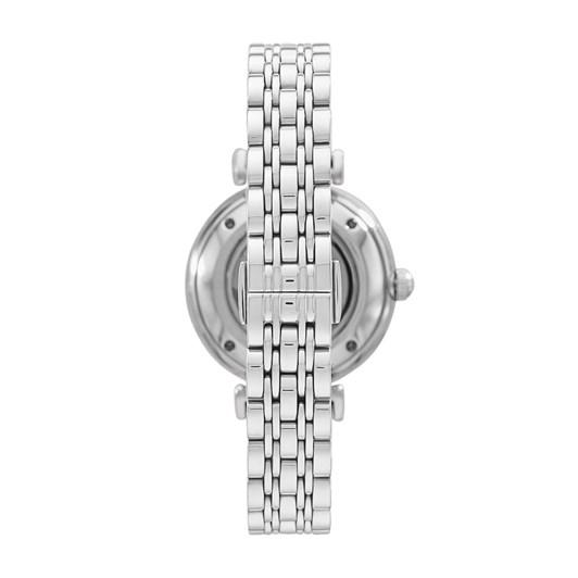 Emporio Armani Gianni T-BAR Silver Analog Watch AR60022