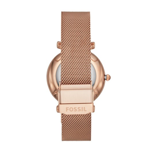 Fossil Carlie Rose Gold Analog Watch ES4918