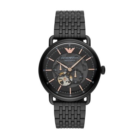 Emporio Armani Aviator Black Analog Watch AR60025