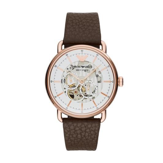 Emporio Armani Aviator Brown Analog Watch AR60027