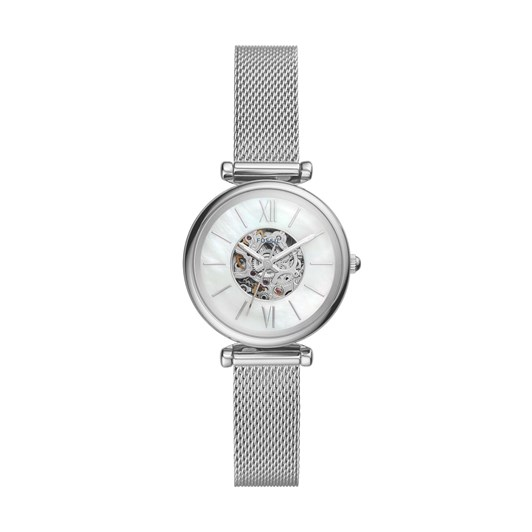 Fossil Carlie Mini Me Silver Analog Watch ME3189