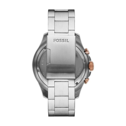 Fossil Fb - 03 Silver Chronograph Watch FS5768
