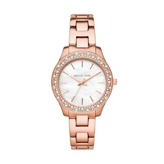 Michael Kors Liliane Rose Gold Analogue Watch MK4557