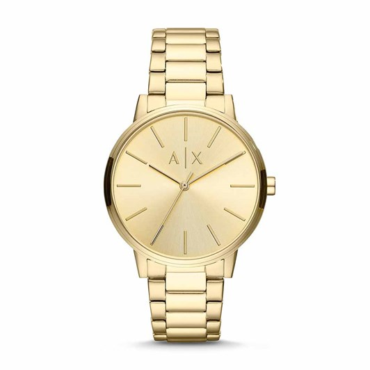 Armani Exchange Cayde Gold-Tone Analogue Watch AX2707