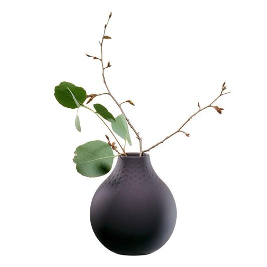 Villeroy & Boch Manufacture Collier Noir Vase Perle Small 11x11x12cm